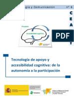 Tecnología de apoyo y accesibilidad cognitiva