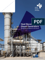 Heat Recovery Steam Generators Brochures