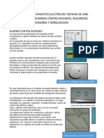 Aplicaciónde Los Aparatos Electricosy Sistema de Aire Acondicionado