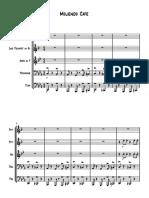 Moliendo Cafe - Score and Parts