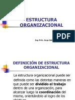Unidad IV - Estructura Organizacional