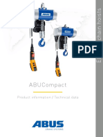 Abus Electric Chain Hoists Abucompact