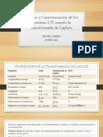Análisis y Caracterización de Los Sistemas LTI Usando