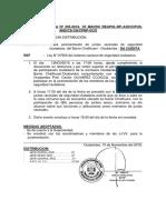 Nota Informativa Nº230 Junta Vecinal Challhuani