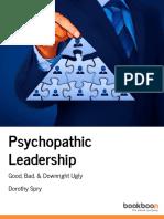Psychopathic Leadership