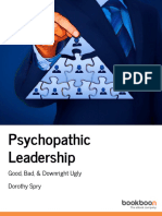 Psychopathic Leadership