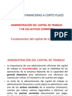 Decisiones Financieras a Corto Plazo