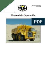 Manual de operacion Mega MTT20