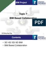 7 - BIM Based Collaboration
