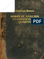 Analisis Filosofico Quijote