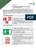 24 - Normas de Trabajo Seguro - Actuacion en Caso de Incencio-evacuacion
