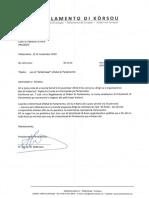 Brf 0576-2a Uso Di Letterhead Ofishal Di Parlamento