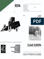 Claas - Protector Mercator 50