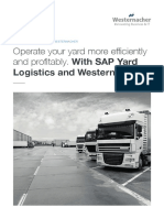 SAP Yard Logistics Flyer En