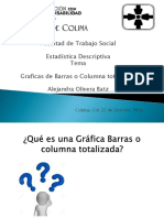 Precentacion de Barras Totalizadas.