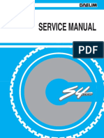 Daelim S4 50cc Service Manual