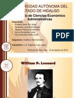 William P. Leonard y Robert J. Thierauf