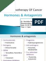 Anticancer Hormones & Antagonists