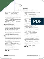Solutions Pre-Intermediate Cumulative Test A