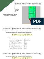 Costo de Oportunidad Aplicado a Block Caving (1)
