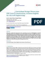 Aviation English for Aircraft Engineering (ESP)