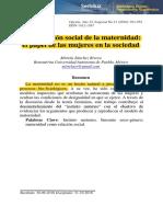 Construccion Social de La Maternidad - Rivera