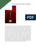 Biografía José Faustino Sánchez Carrión