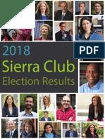 2018 Sierra Club MI Election Report