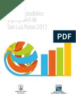 Anuario estadístico SLP