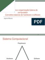 Arquitetura e Organização Básica Do Computador
