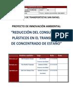 Proyecto de Reducción de Uso Plástico...
