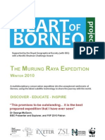 Murung Raya Expedition Brochure Oct 2010