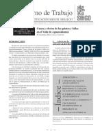 Causa y efectos de las grietas y fallas en el Valle de Aguascalientes