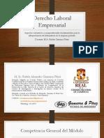 Presentación Módulo 3 Derecho Laboral Empresarial Bolivia