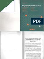 Cuñarro, Mónica L-La política criminal de la droga-(2 cáp).pdf