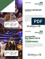Calendario Eventos Barranquilla 2018