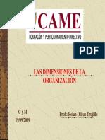 CAME.S22.Pr Las Dimensiones de La Organizacion