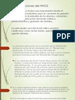 Aplicaciones del HNO3.pptx