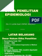 07 Etika Penelitian Epidemiologi TUGAS