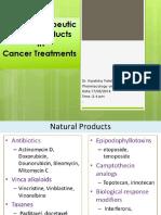 Natural Cancer Drugs