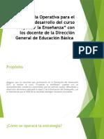 Estrategia Operativa para el desarrollo del curso Proyectar la Enseñanza.pptx