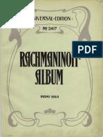Rachmaninoff - Album.pdf