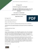 Sullivan v. Bank of N.Y. Mellon Corp., 91 F.supp.3d 154 (D. Mass., 2015)
