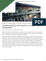 Conhecimentos Aeronáuticos_ Cockpit – Piloto Automático _ Terminal Curitiba