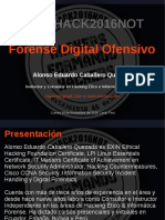Forensia Digital Ofensiva Alonso Caballero