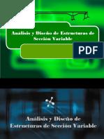 Análisis y Diseño de Estructuras de Sección Variable