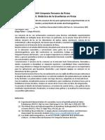 XXVI Simposio Peruano de Física