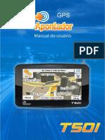 Manual Apontador T501 Hardware 03062011
