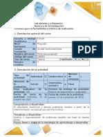 Guía de actividades y rúbrica de calificación - Tarea 3 - Plantear problema ético - estudio de caso general