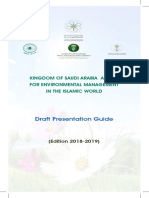 KSAAEM Presentation Guide Kingdom of Saudi Arabia Award for Environmental Management in the Islamic World